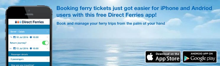 Direct Ferries On Your Mobile