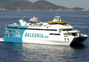Balearia nixe ferry review and ship guide for Oficina balearia ibiza