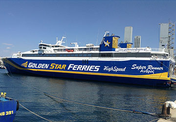 The Golden Star Ferries Super Runner