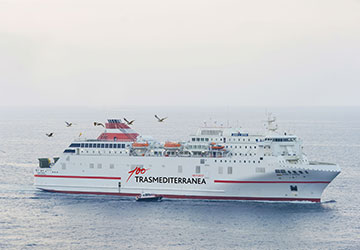 Trasmediterranea Juan J Sister ferry review and ship guide