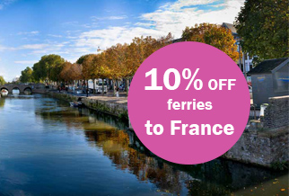 10% off Dover - France when you book early