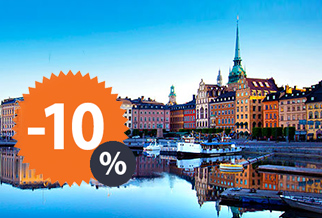 10% Off ferries to Sweden with TT Line