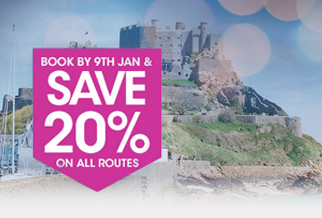 20% off Condor Ferries routes when you book early
