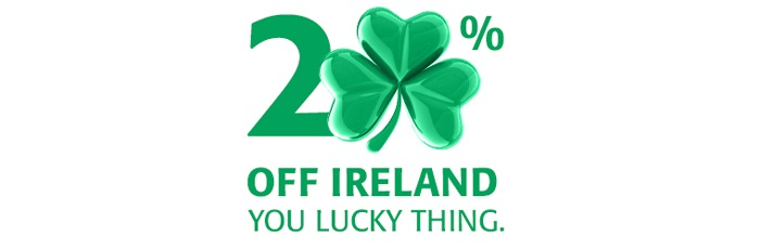 20% off ferries to Ireland with Irish Ferries