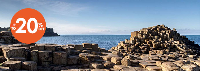 20% OFF P&O Ferries to Northern Ireland