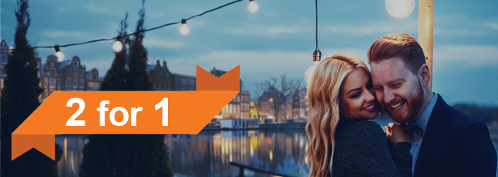 Amsterdam mini cruise: 2 for 1 with DFDS
