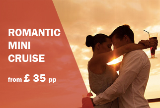 Amsterdam mini cruise from £35pp this Valentine's