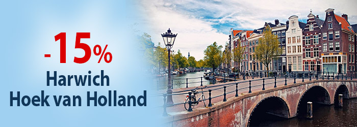 Autumn Sale: up to 15% OFF ferries to Holland