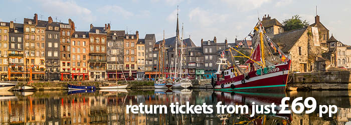 Brittany Ferries: Channel Hop from £69 pp return