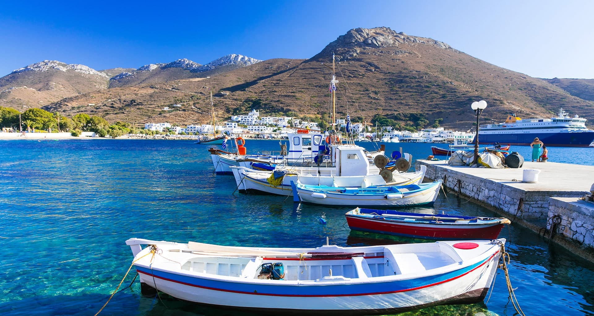 Cyclades islands: 20% OFF with Aegean Speed Lines