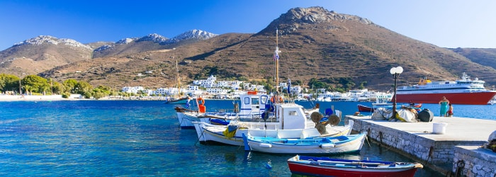 Cyclades islands: 30% on the return with Zante Ferries