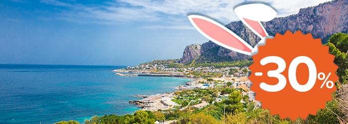 Easter in Sicily: 30% OFF with GNV