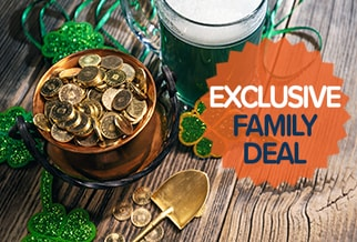 Exclusive St Patrick's Day Family Deal