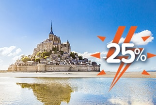 FLASH! 25% OFF Brittany Ferries sailings to France