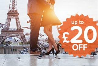 Flash Sale! up to £20 OFF Dover – France
