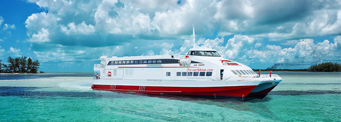 FRS Caribbean: new crossing to Grand Bahama