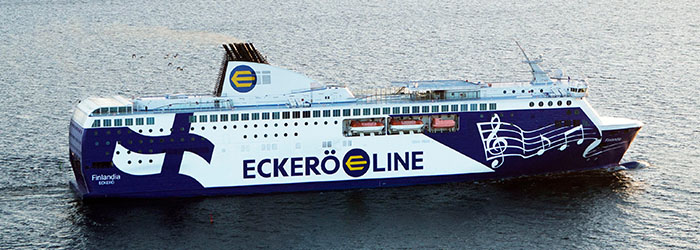 Get up to 25% OFF Eckerö Line sailings