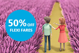 Half price Flexi upgrade to Calais with P&O Ferries