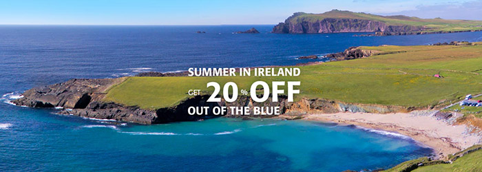 Save 20% on ferries to Ireland all year