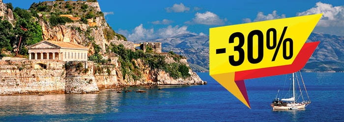 Save Up to 30% on Italy - Greece