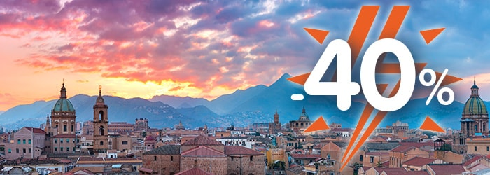 Sicily: save 40% with GNV Special Sale