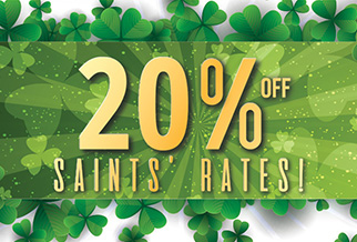 St Patrick's Day: save 20% on ferries to Ireland