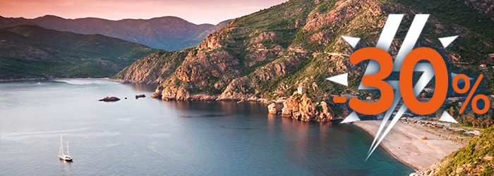 Up to 30% OFF with Corsica Sardinia Ferries