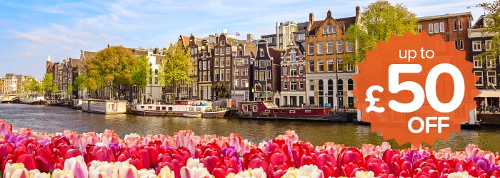 Up to £50 off Newcastle – Amsterdam with DFDS