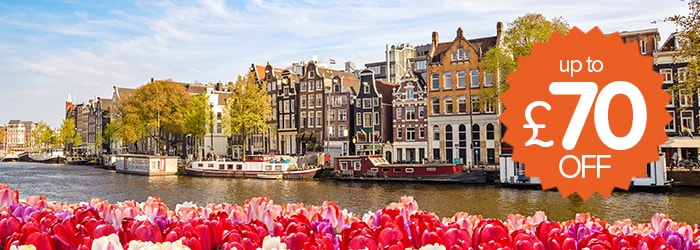 Up to £70 off Newcastle – Amsterdam with DFDS